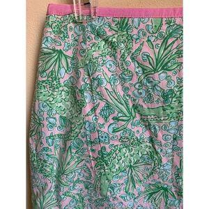 Lily Pulitzer : see ya later alligator skirt
